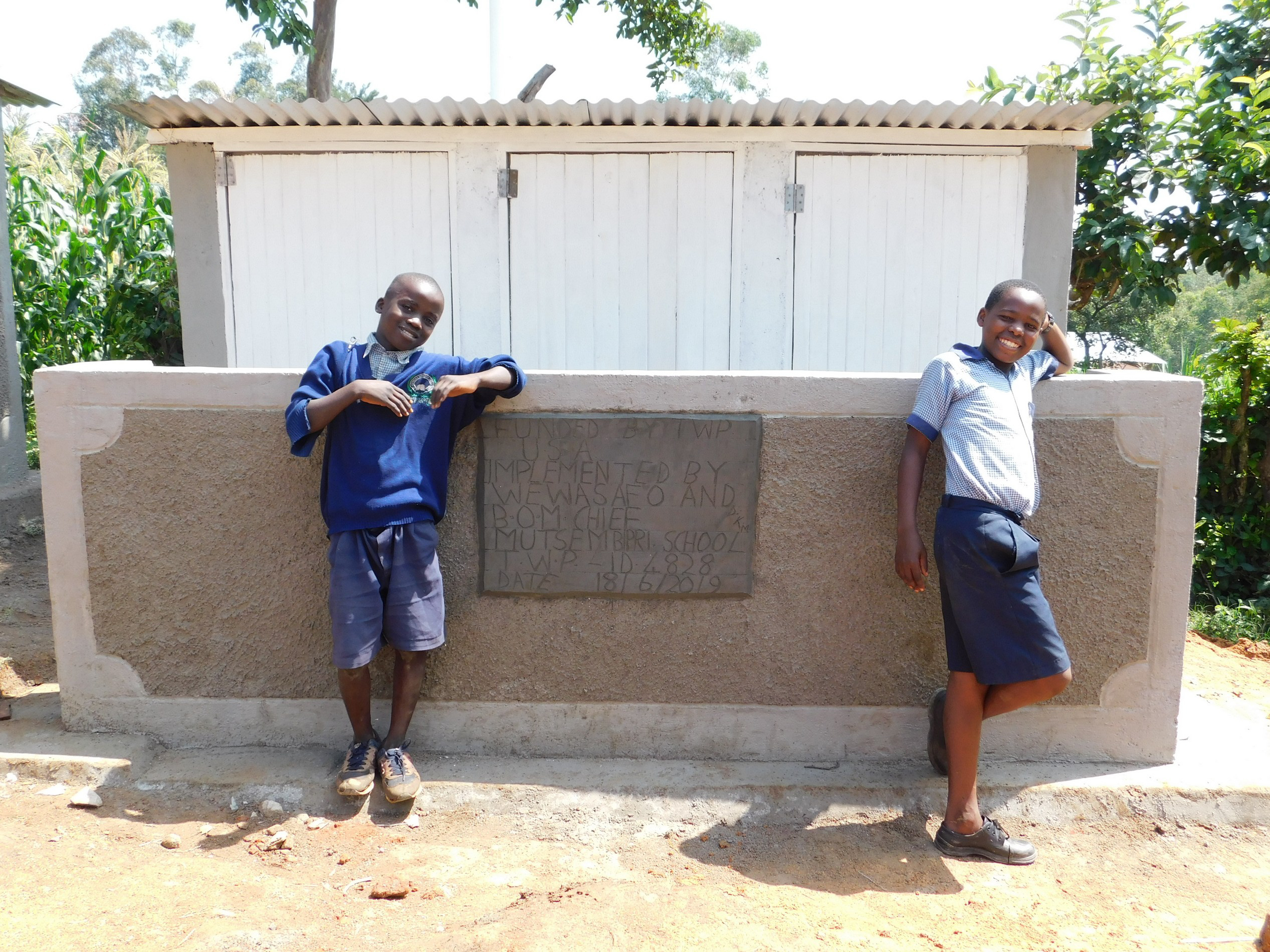 The Water Project : 7-kenya4828-new-latrines
