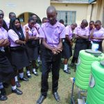 The Water Project: Namanja Secondary School -  Handwashing Training