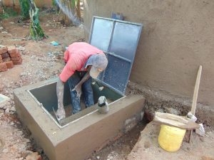 The Water Project:  Hatch Cemented In