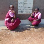 The Water Project: Kitumba Primary School -  Latrine Plaque