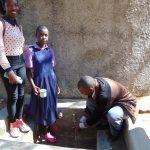 The Water Project: Ematetie Primary School -  Flowing Water