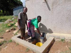 The Water Project:  School Staff Fetches Water