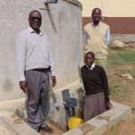 The Water Project: Lihanda Secondary School -  Deputy Principal Principal And Student Pauline