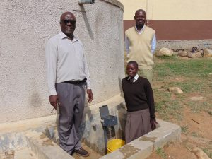 The Water Project:  Deputy Principal Principal And Student Pauline