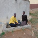 The Water Project: Lihanda Secondary School -  Field Officer Erick Interviews Student Pauline