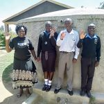The Water Project: Mutsuma Secondary School -  Mutsuma Students And Staff