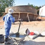 The Water Project: Kikuswi Secondary School -  Artisan On Job Site