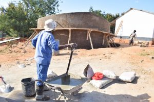 The Water Project:  Artisan On Job Site