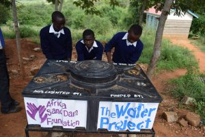 The Water Project:  Boys At The New Handwashing Station