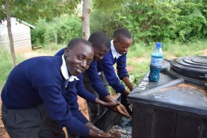 The Water Project:  Boys Washing Their Hands