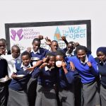 The Water Project: Kikuswi Secondary School -  Celebrating New Water Point