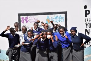 The Water Project:  Celebrating New Water Point