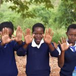 The Water Project: Kikuswi Secondary School -  Clean Hands