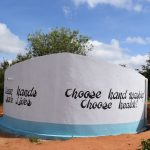The Water Project: Kikuswi Secondary School -  Complete Tank