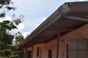 The Water Project:  Gutters For Collecting Rainfall