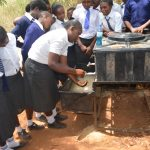 The Water Project: Kikuswi Secondary School -  Handwashing Demonstration