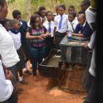 The Water Project: Kikuswi Secondary School -  Handwashing Training