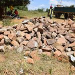 The Water Project: Kikuswi Secondary School -  Rocks For Tank
