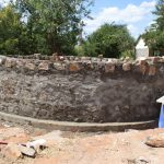 The Water Project: Kikuswi Secondary School -  Tank Under Construction