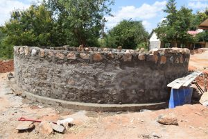 The Water Project:  Tank Under Construction