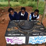 The Water Project: Kikuswi Secondary School -  Using New Handwashing Station