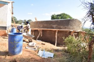 The Water Project:  Wall Construction Nearly Complete