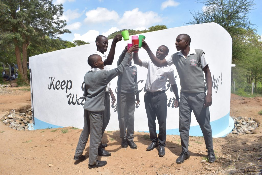 The Water Project : kenya19241-cheers