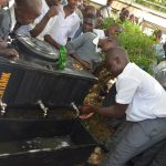 The Water Project: AIC Kyome Boys' Secondary School -  Handwashing Demonstration