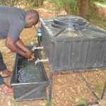 The Water Project: AIC Kyome Boys' Secondary School -  New Handwashing Station