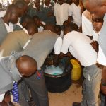 The Water Project: AIC Kyome Boys' Secondary School -  Soapmaking Demonstration