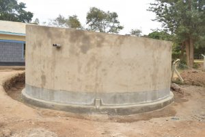 The Water Project:  Tank Awaits Fresh Coat Of Paint