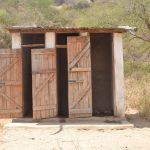 The Water Project: Kangutha Primary School -  Boys Latrines