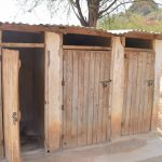 The Water Project: Kangutha Primary School -  Girls Latrines
