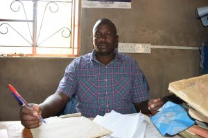 The Water Project:  Headteacher Cirus Ireri