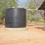 The Water Project: Nyanyaa Secondary School -  Small Raintwater Tank