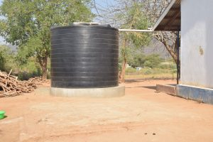 The Water Project:  Small Raintwater Tank