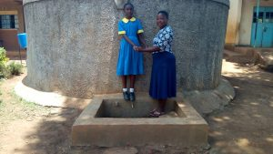 The Water Project:  Student Keilla Lopez With Field Officer Betty