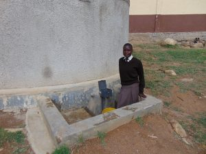 The Water Project:  Student Pauline Atieno