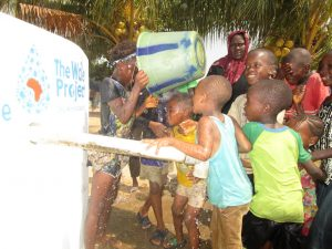 The Water Project:  Children Play At The Well