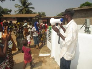 The Water Project:  Deen Mansaray Land Owner Laeding Prayer