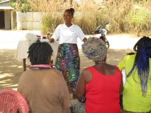The Water Project:  Hygiene Training Session