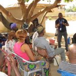 The Water Project: Kasongha, 8 BB Kamara Street -  People Listen During Hygiene Training