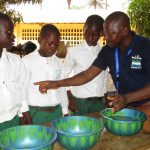 The Water Project: DEC Makassa Primary School -  Handwashing Activity