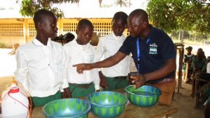 The Water Project:  Handwashing Activity