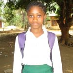 The Water Project: DEC Makassa Primary School -  Head Girl Mamie Sesay