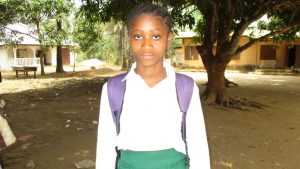 The Water Project:  Head Girl Mamie Sesay