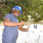 The Water Project: DEC Makassa Primary School -  Pump Installation