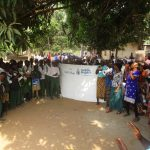 The Water Project: DEC Makassa Primary School -  Students And Community Celebrate The Well