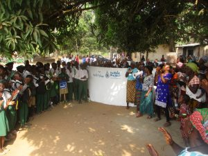 The Water Project:  Students And Community Celebrate The Well