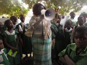 The Water Project:  Thank You Speech From Iasatu Conteh